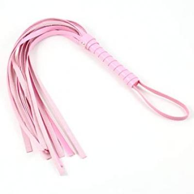 Плеть кожа розовый Notabu