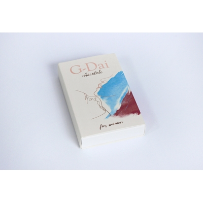 """Шоколад возбуждающий для женщин """"G-Dai"""" 15г"""