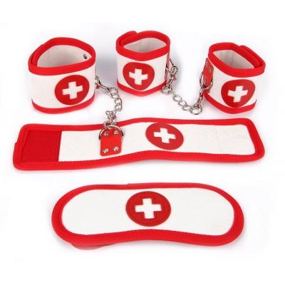 Комплект медсестра (наручники, оковы, маска)