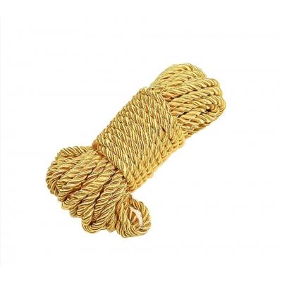 Веревка золото 5м
