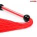 Плеть силиконовая красная L 350 мм