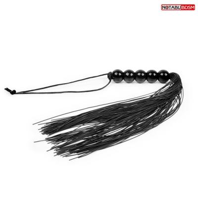 Плеть силиконовая черная L 350 мм