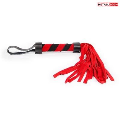 Плеть черно-красная L 270 мм