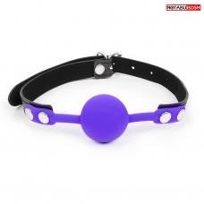 КЛЯП силиконовый чёрный/фиолетовый