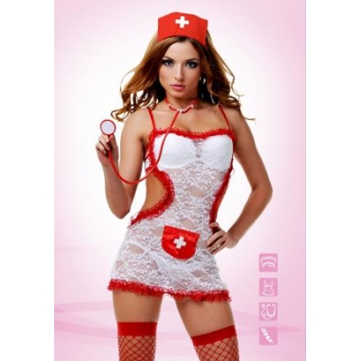 Ролевой костюм Соблазнительной медсестры (S/M)