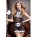 Костюм горничной Candy Girl Tiffany (комбинация, трусы, фартук, перчатки, чулки, головной убор, метелка), OS