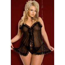 Сексуальная сорочка и стринги SoftLine Collection Kaya XXL