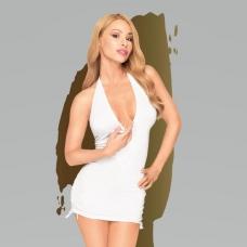 """Эротичное платье в комплекте с трусиками Penthouse """"Earth-shaker"""" white (M/L)."""