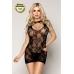 Платье и стринги Candy Girl Vanilla бесшовное черное, OS