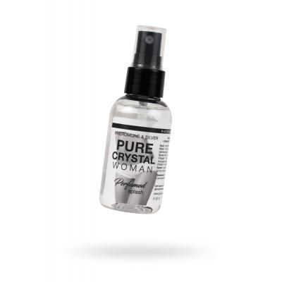 Женский парфюмированный спрей для нижнего белья Pure Cristal - 50 мл.