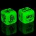 """Кубик неоновый """"Я тебя хочу"""""""