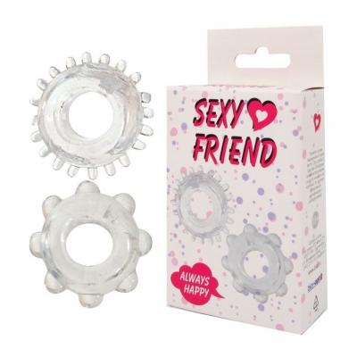 Набор эрекционных колец Sexy Friend 2 шт