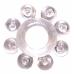 Эрекционное кольцо прозрачное Bubbles