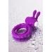 Эрекционное виброкольцо фиолетовое JOS Good Bunny