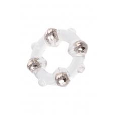 Эрекционное кольцо с металлическими бусинами Seven Creations