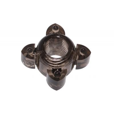 Эрекционное кольцо черное Screw
