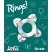 Эрекционное кольцо прозрачное Screw