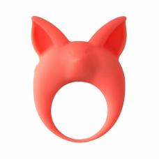 Эрекционное виброкольцо Mimi Animals Kitten Kyle Orange