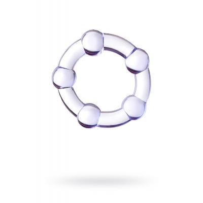 Эрекционное кольцо на пенис Штучки-дрючки фиолетовое