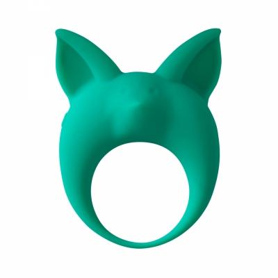 Эрекционное виброкольцо Mimi Animals Kitten Kyle Green