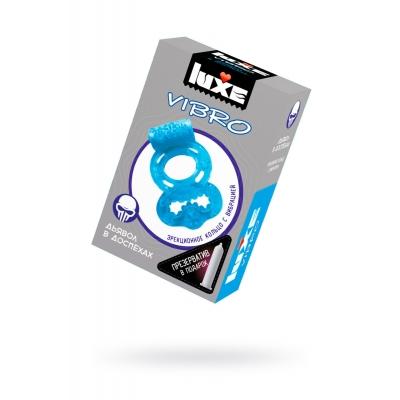 Виброкольцо + презерватив Дьявол в доспехах