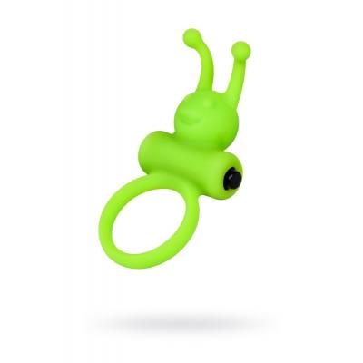 Виброкольцо пенис зеленое A-Toys Ø3,1 см