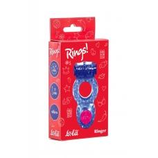 Эрекционное виброкольцо фиолетовое Rings Ringer purple