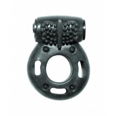 Lola Toys Rings Axle-pin, черное. Эрекционное кольцо с вибрацией