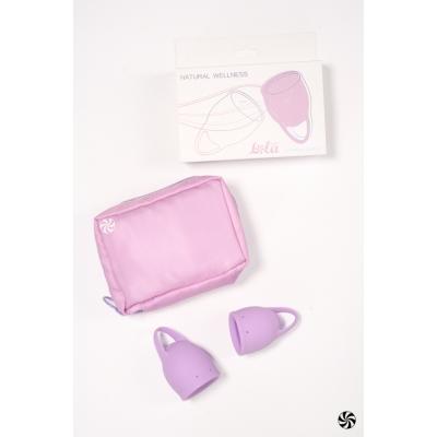 Набор менструальных чаш Natural Wellness Orchid Lavander