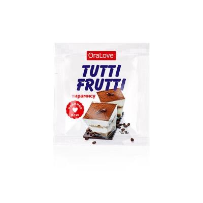 Съедобный лубрикант Tutti-Frutti тирамису 4 г