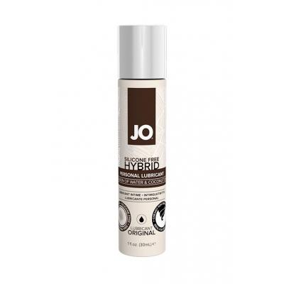 Гипоалергенный лубрикант гибридный JO Silicon free 30 мл
