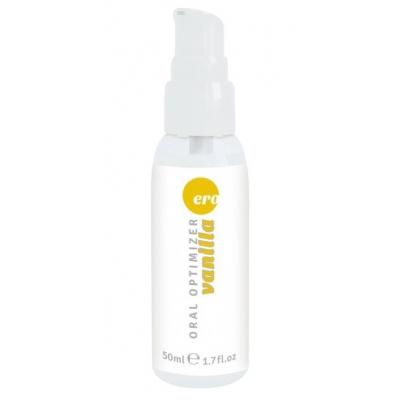 Съедобный охлаждающий гель для глубокого горла HOT ваниль 50 мл