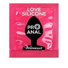 Согревающий анальный гель на силиконе Silicon Love Surprise 3 г