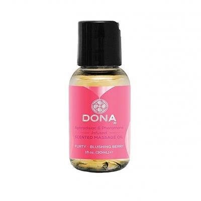 Массажное масло с феромонами и афродизиаками Dona Флирт 30 мл