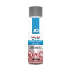 Возбуждающий лубрикант на водной основе JO H2O Warming 120мл.