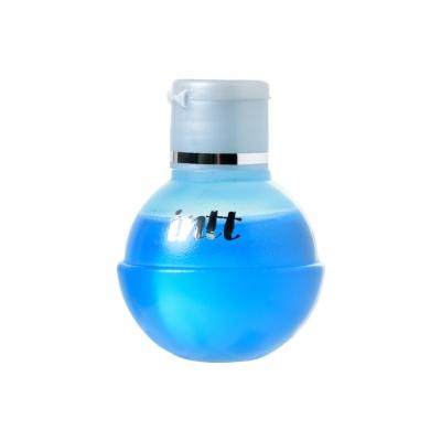 Согревающее съедобное масло-лубрикант INTT ледяная мята 40 мл