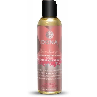 Массажное масло с феромонами и афродизиаками DONA Vanilla