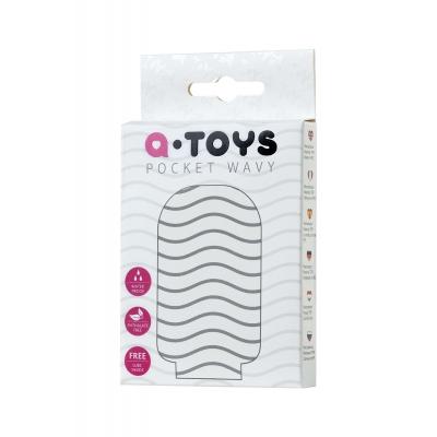 Мастурбатор TOYFA A-Toys Pocket Wavy