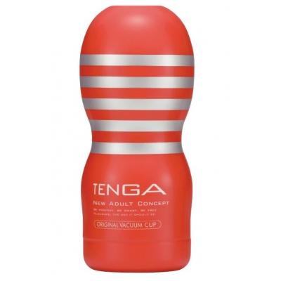 Многоразовый мастурбатор с охлаждающим эффектом TENGA Deep Throat