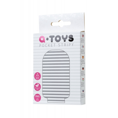 Мастурбатор TOYFA A-Toys Pocket Stripy