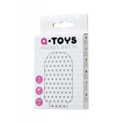 Мастурбатор TOYFA A-Toys Pocket Dotty