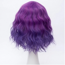 Парик фиолетовые кудри