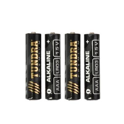 Батарейка алкалиновая TUNDRA, AAA