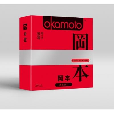Ультратонкие презервативы OKAMOTO Skinless 3 шт