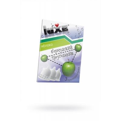 Презервативы LUXE Бермудский треугольник, яблоко 3 шт