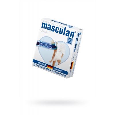 Презервативы особо тонкие Masculan 3 шт