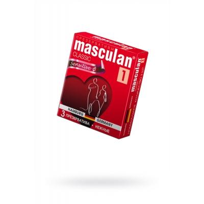Презервативы нежные Masculan 3 шт