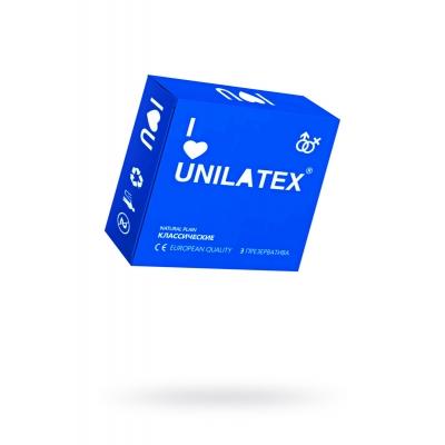 Презервативы классические Unilatex Natural Plain