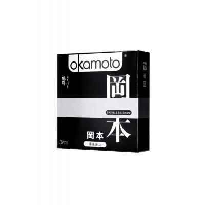 Презерватив с двойной смазкой и ароматом ванили Okamoto