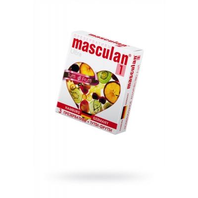 Презервативы цветные Masculan 3 шт